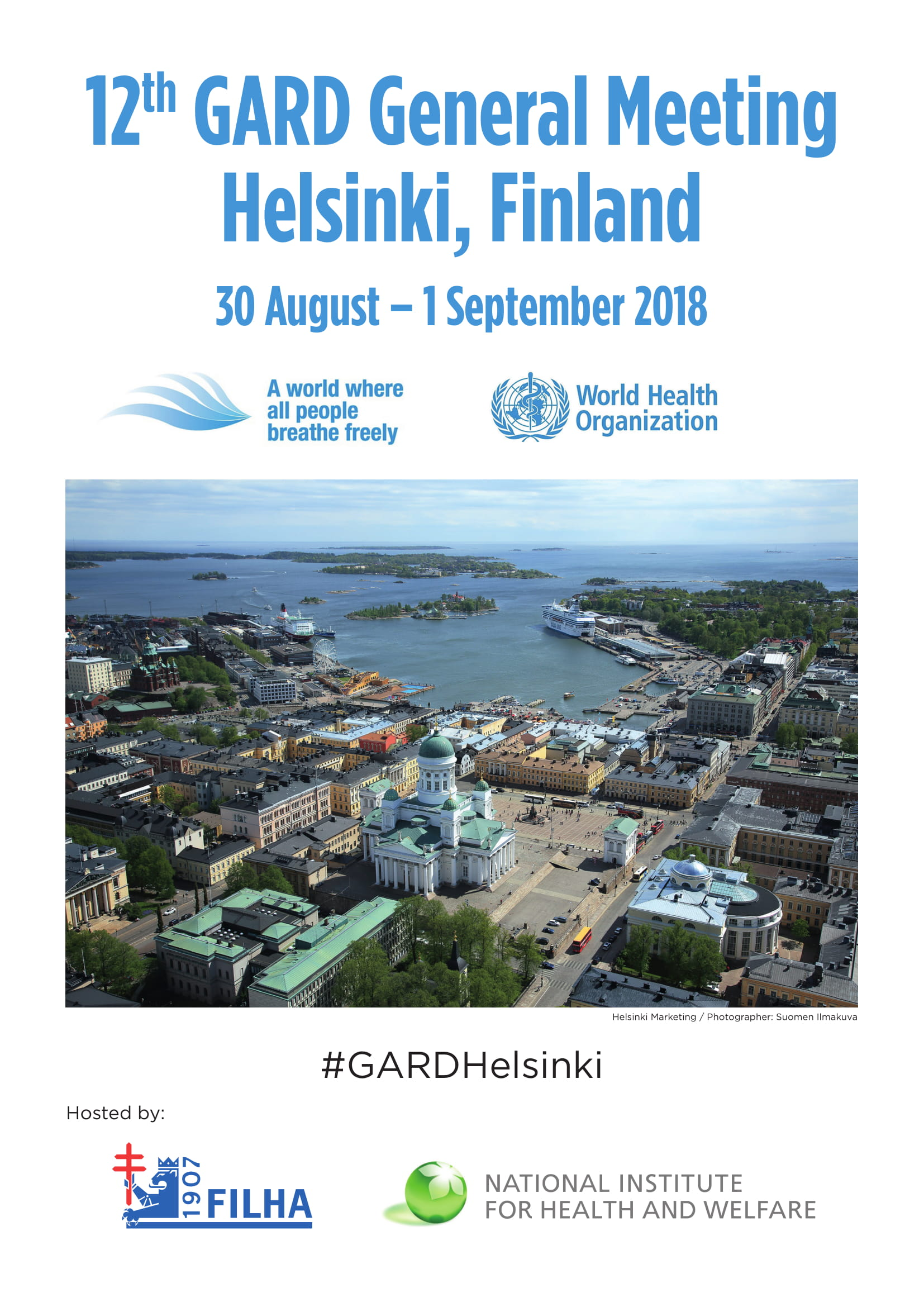 12th GARD General Meeting – International conference discusses chronic lung diseases in Helsinki